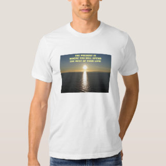 o presente camiseta