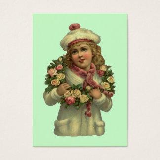 O presente doce do estilo do Victorian etiqueta Cartão De Visitas