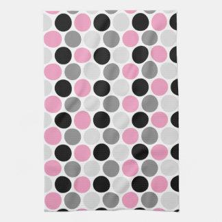 O preto cinzento cor-de-rosa moderno circunda toal