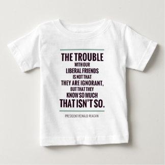O problema com liberais t-shirt