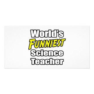 O professor de ciências o mais engraçado do mundo cartoes com foto