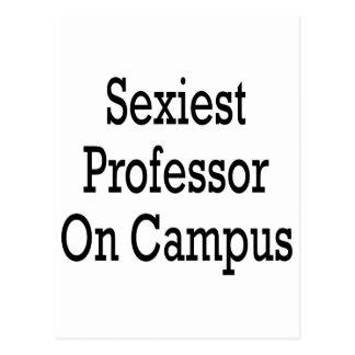 O professor o mais sexy Terreno Cartoes Postais