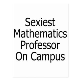 """O professor o mais """"sexy"""" Terreno da matemática Cartão Postal"""