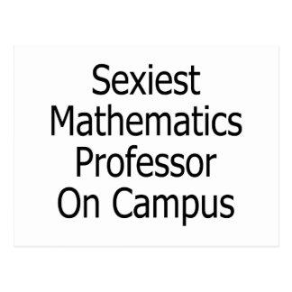 O professor o mais sexy Terreno da matemática Cartão Postal