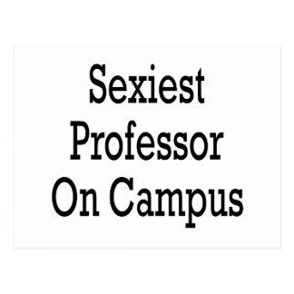 O professor o mais sexy Terreno Cartão Postal