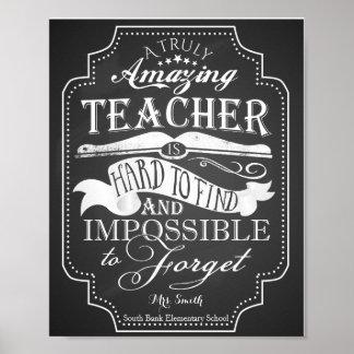 O professor surpreendente é impossível de esquecer poster