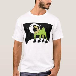 O Pug do espaço vai à lua T-shirts