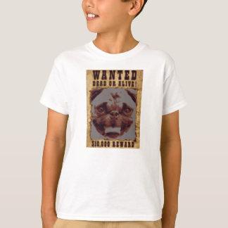 O Pug quis o t-shirt do Hanes Tagless dos miúdos