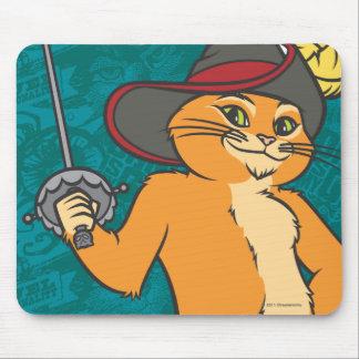 O Puss Brandishes a espada Mousepad
