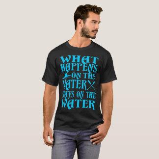 O que acontece em estadas da água no Tshirt do