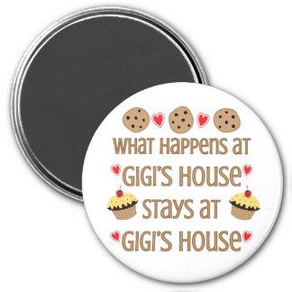 O que acontece no ímã da casa de GiGi Imãs