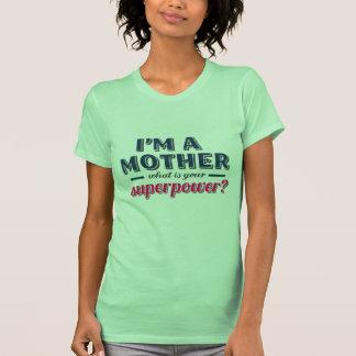 O que é suas camisetas engraçadas do dia das mães