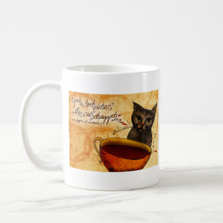O que meu #Coffee me diz - olhe que o gato Caneca