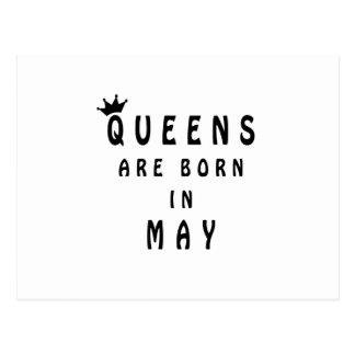 O Queens é nascido em maio Cartão Postal