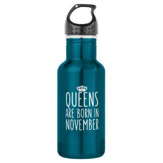 O Queens é nascido em novembro Garrafa D'água
