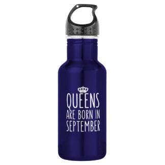 O Queens é nascido em setembro Garrafa