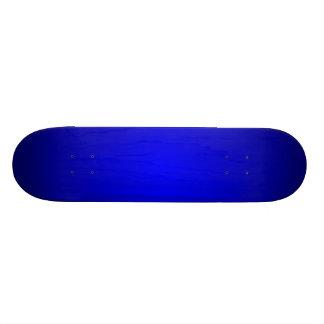 O radial azul desvanece-se shape de skate 21,6cm