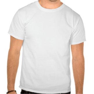 O raio e escutaram camisa do músculo do est 2011® tshirt