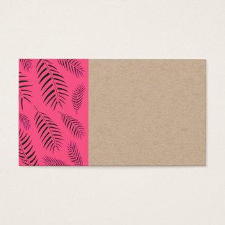O reciclar do cartão dos DESENHISTAS com rosa