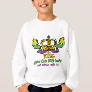 O rei obtem a miçanga GRANDE Agasalho
