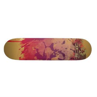 O rei shape de skate 21,6cm