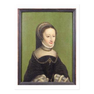 O retrato de uma senhora, disse ser o d'Albret de Cartão Postal