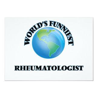 O Rheumatologist o mais engraçado do mundo Convite 12.7 X 17.78cm