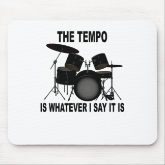 o ritmo é o que quer que eu digo o t-shirt M.png Mouse Pad