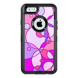 O rosa borbulha Otterbox para o iPhone
