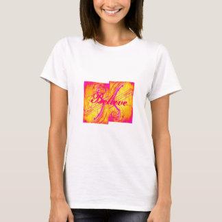O rosa quente do projeto da arte abstracta, tshirts