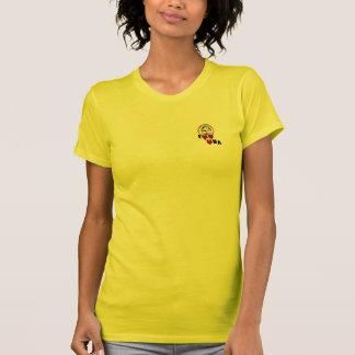 O Roupa-Coração americano N.A. das mulheres de Cof T-shirts