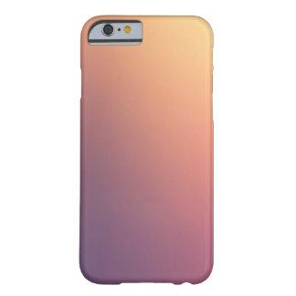 O roxo à laranja desvanece-se caso capa barely there para iPhone 6