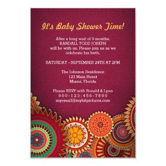 O rum estourou o design de cartão criativo do convite 8.89 x 12.7cm
