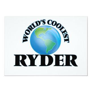 O Ryder o mais fresco do mundo Convite Personalizado