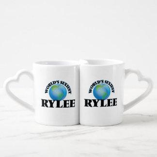 """O Rylee o mais """"sexy"""" do mundo Caneca Para Namorada"""