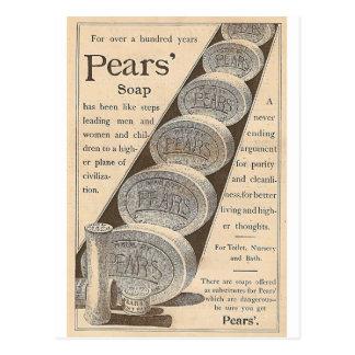 O sabão das peras cartão postal