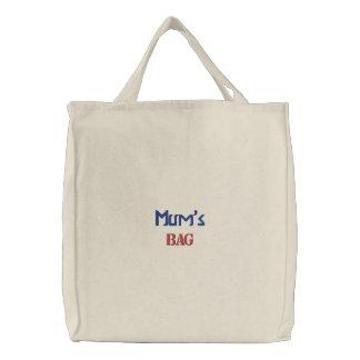 O saco bordado cria a equipe do saco da sua própri bolsa bordada