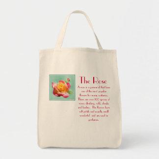 O saco do rosa sacola tote de mercado