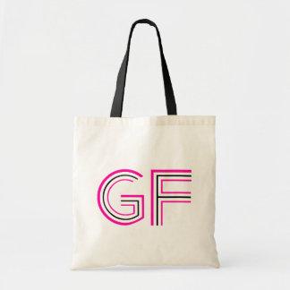 O saco do rosa quente GF Sacola Tote Budget