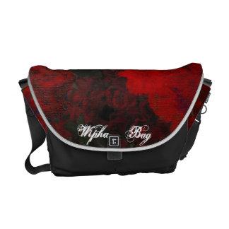 O saco velho dos rosas bolsa mensageiro