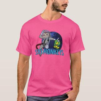 O SciFi Monkeys o logotipo Camiseta