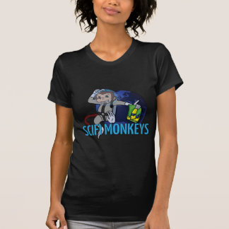 O SciFi Monkeys o logotipo Camisetas