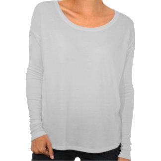 O selo das mulheres - camisa longa da luva da t-shirt