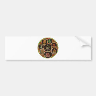 O SELO de CURA:  Emblema de Karuna Reiki Adesivo Para Carro
