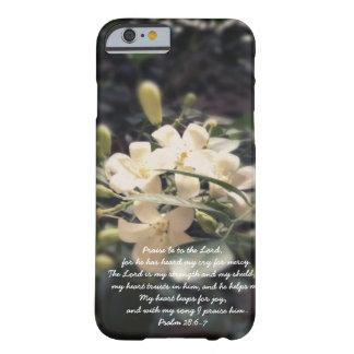 O senhor é meus força & protetor - iPhone do Capa Barely There Para iPhone 6