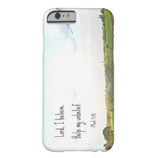 O senhor Eu acredita o caso Capa Barely There Para iPhone 6