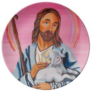 O senhor Ser Meu Pastor Prato De Porcelana