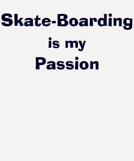 O Skate-Embarque é minha paixão Tshirt