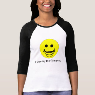 O smiley legal enfrentou o t-shirt da luva de