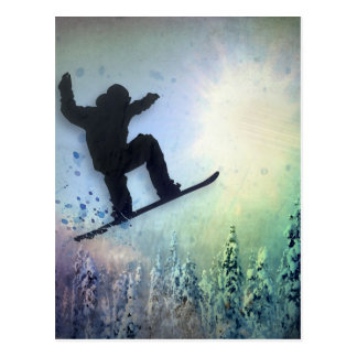 O Snowboarder: Ar Cartão Postal